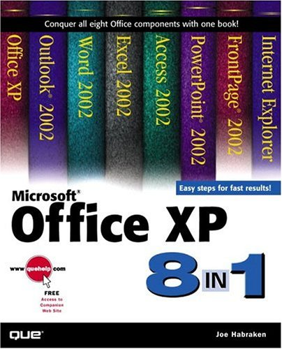 Microsoft Office XP 8-In-1 9780789725097