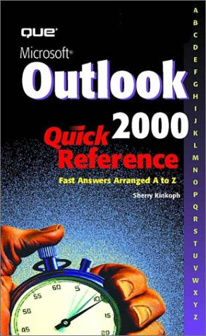 Ms Outlook 2000 Quick Reference Kinkoph