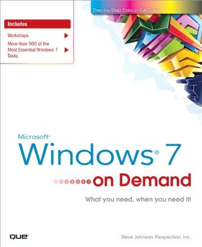Microsoft Windows 7 on Demand 9780789742018