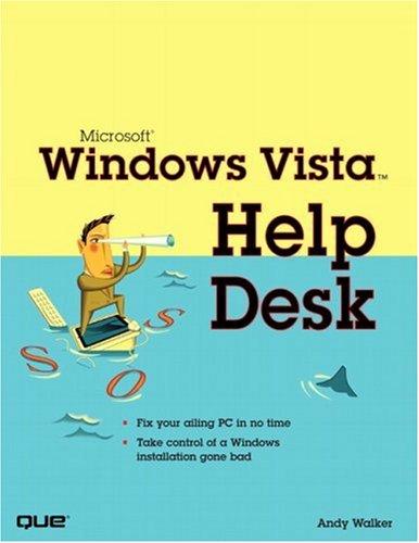 Microsoft Windows Vista Help Desk 9780789735874