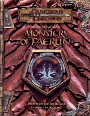 Monster Compendium: Monsters of Faerun 9780786918324