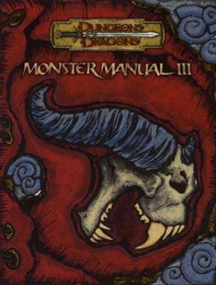 Monster Manual III 9780786934300