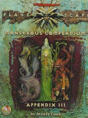 Monstrous Compendium Appendix III