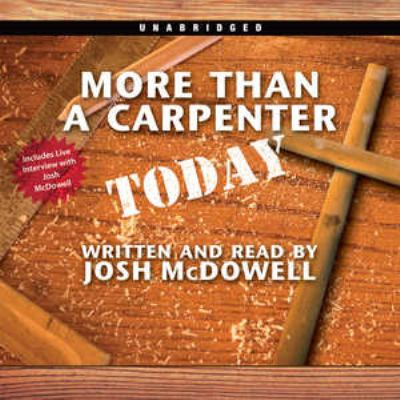 More Than a Carpenter Today: An Oasis Audio Production 9780786170487
