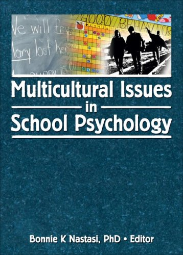 Multicultural Issues in School Psychology 9780789034656