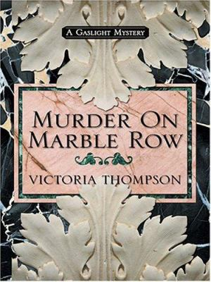 Murder on Marble Row 9780786269419
