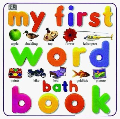 My First Word Bath Book 9780789442970