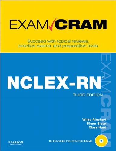 NCLEX-RN Exam Cram [With CDROM] 9780789744821