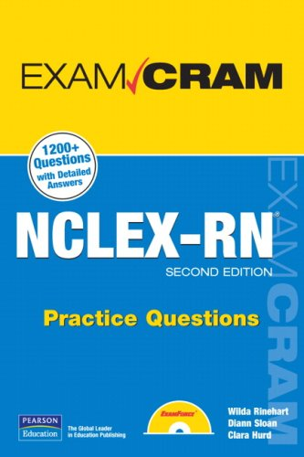 NCLEX-RN Practice Questions [With CDROM] 9780789737045