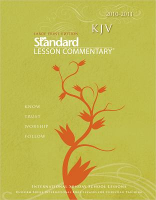 NIV Standard Lesson Commentary Large Print 2010-2011 9780784723487