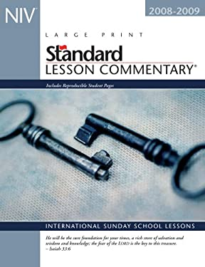 NIV Standard Lesson Commentary: International Sunday School Lessons 9780784722015