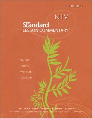 NIV Standard Lesson Commentary with Ecommentary [With Ecommentary CD] 9780784723425