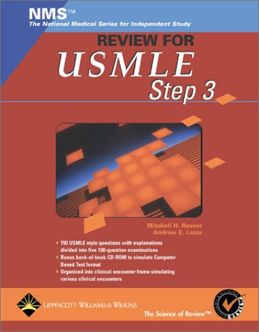 NMS Review for USMLE Step 3 [With CDROM] 9780781732017