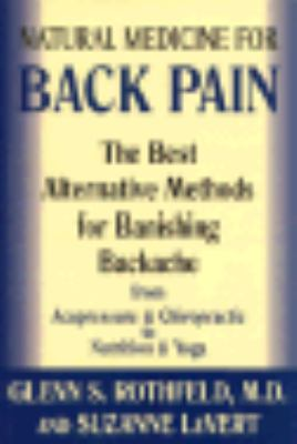 Natural Medicine for Back Pain 9780783820262