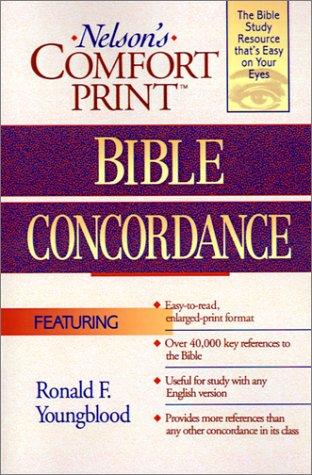 Nelson's Comfort Print Bible Concordance 9780785248552