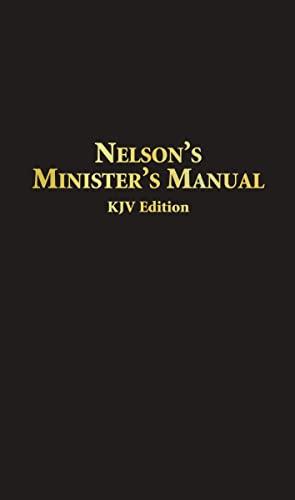 Nelson's Minister's Manual KJV 9780785252580