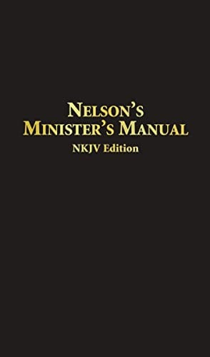 Nelson's Minister's Manual NKJV: Bonded Leather Edition 9780785252597
