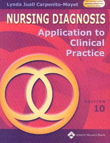 Nursing Diagnosis: Application to Clinical Practice 9780781743549
