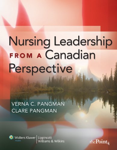Nursing Leadership from a Canadian Perspective 9780781777940