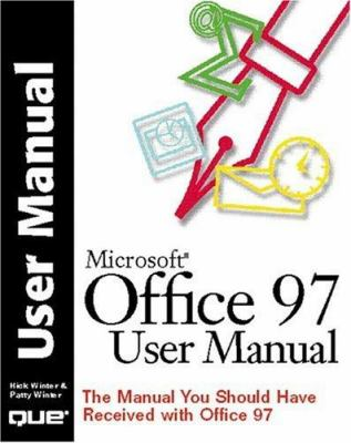 Office 97 User Manual 9780789717061