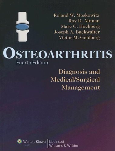 Osteoarthritis: Diagnosis and Medical/Surgical Management 9780781767071