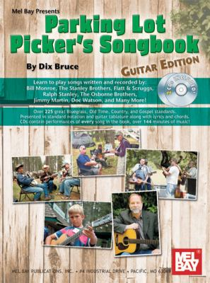 Parking Lot Picker's Songbook: Guitar Edition [With 2 CDs] 9780786674985
