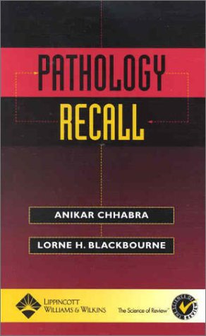 Pathology Recall 9780781734066