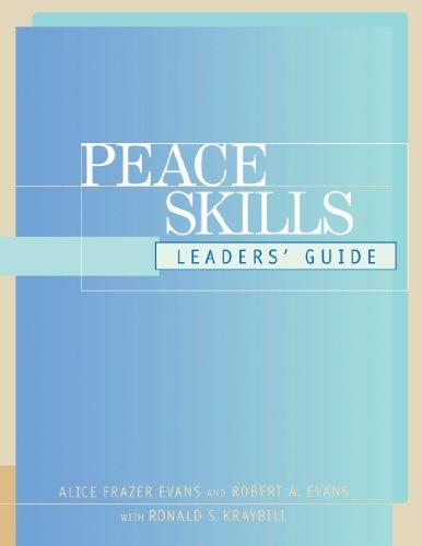 Peace Skills: Leaders' Guide 9780787948009