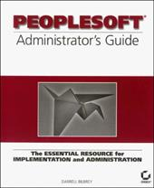 PeopleSoft Administrator's Guide 3040760