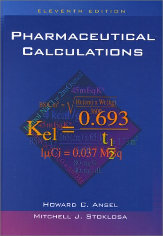 Pharmaceutical Calculations 9780781731720