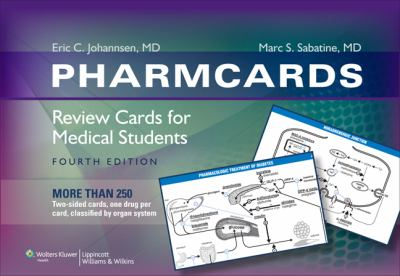 Pharmcards: Review Cards for Medical Students 9780781787413