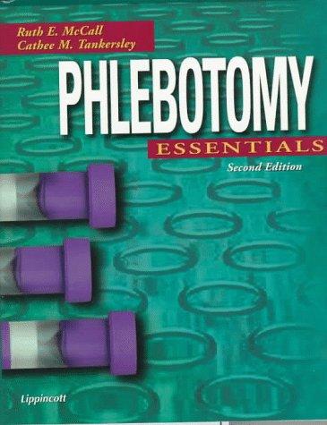 Phlebotomy Essentials 9780781791984