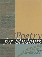 Poetry for Students: Volume 27