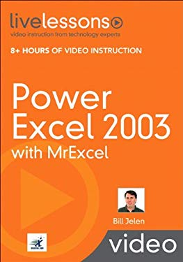 Power Excel 2003 with MrExcel [With DVD] 9780789738240