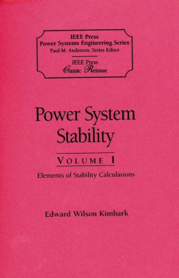 Power System Stability 9780780311350