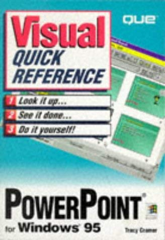 PowerPoint for Windows 95 9780789706843