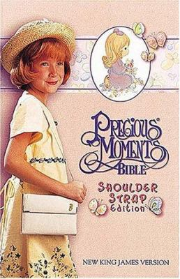 Precious Moments Bible-NKJV-Shoulder Strap 9780785204534