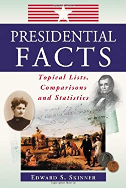 Presidential Facts: Topical Lists, Comparisons and Statistics 9780786424276