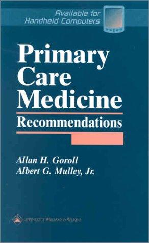 Primary Care Medicine Recommendations 9780781733526