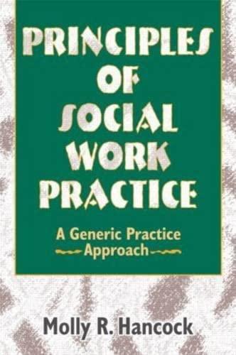Principles of Social Work Practice 9780789001887