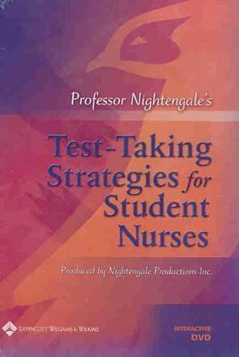 Professor Nightengale's Test-Taking Strategies for Student Nurses Interactive DVD 9780781791311