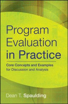 Program Evaluation in Practice: Core Concepts and Examples for Discussion and Analysis 9780787986858