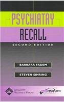 Psychiatry Recall 9780781745116