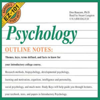 Psychology 9780786175994