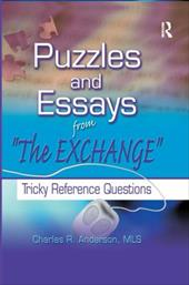 Puzzles and Essays from the Exchange: Tricky Reference Questions 3129609