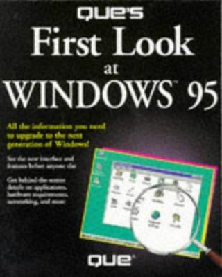 Que's First Look at Windows 95 9780789700742