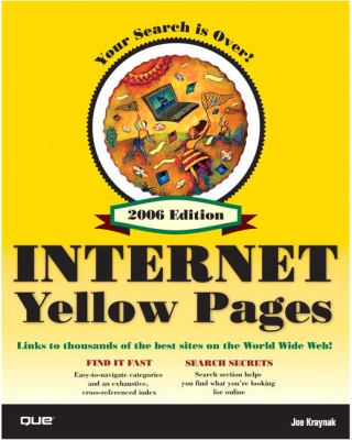 Que's Official Internet Yellow Pages 9780789734082