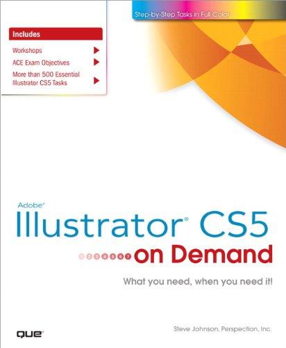 Adobe Illustrator Cs5 on Demand 9780789744456