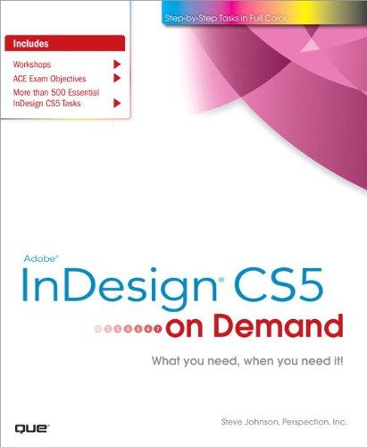 Adobe InDesign CS5 on Demand