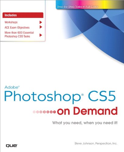 Adobe Photoshop Cs5 on Demand 9780789744470
